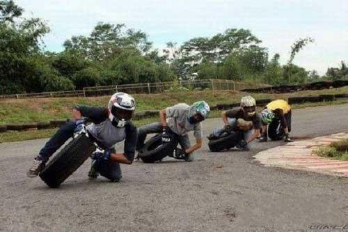 轮胎比赛才最疯狂!