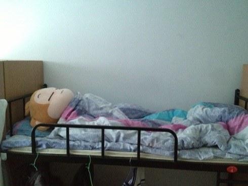尼玛尼玛尼玛(囧)说好的起床复习呢?尼玛一睁眼看勤奋的室友还在睡,我就继续睡了,等睡到11点仔细一看!!!【zt】