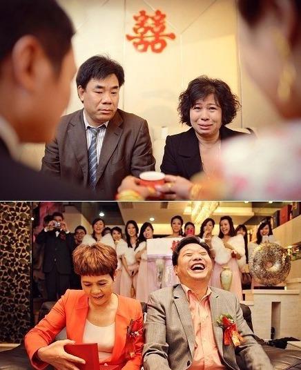 嫁女儿和娶儿媳,昨天的两张照片。。。(图TangVision)