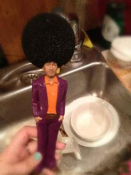 同学家里刷碗的东西......笑死我了.....