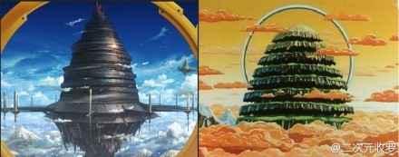 如果你认得右边的塔说明你的漫龄有十年以上.....