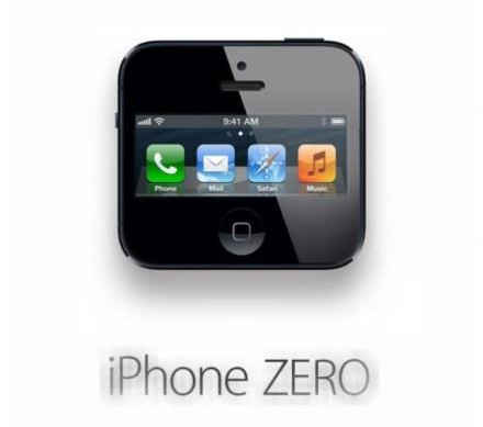【返回原点 iphone ZERO】太长没特点,原点更精炼...iphone ZERO你好短...