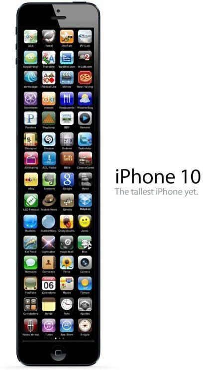 刚从苹果总部盗取的iPhone 10 谍照。请低调传播。。。