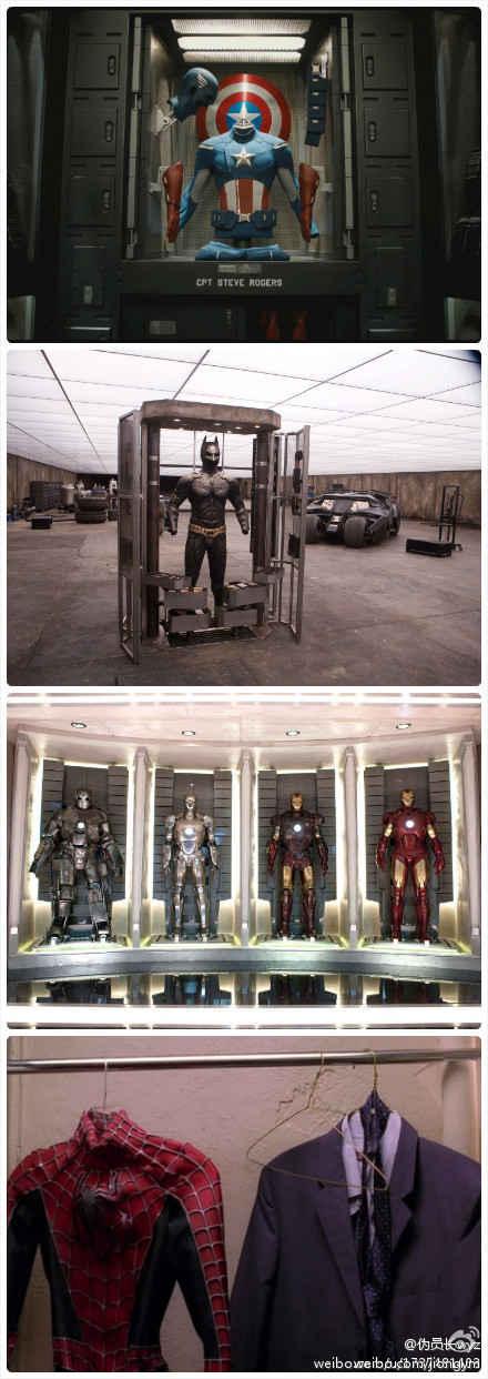 一般来说他们都有专门放suit的地方……但是……