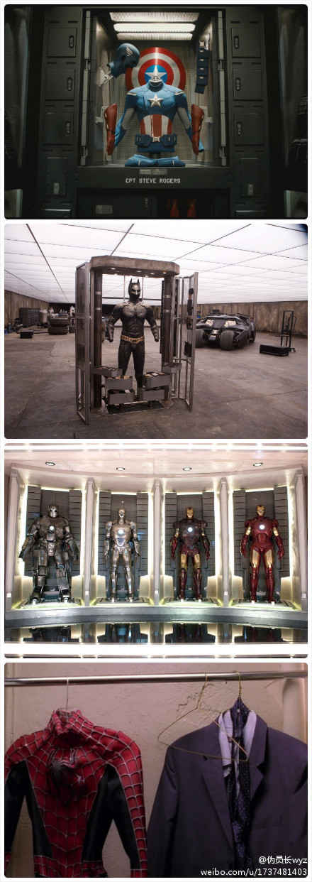 一般来说他们都有专门放suit的地方……但是……。