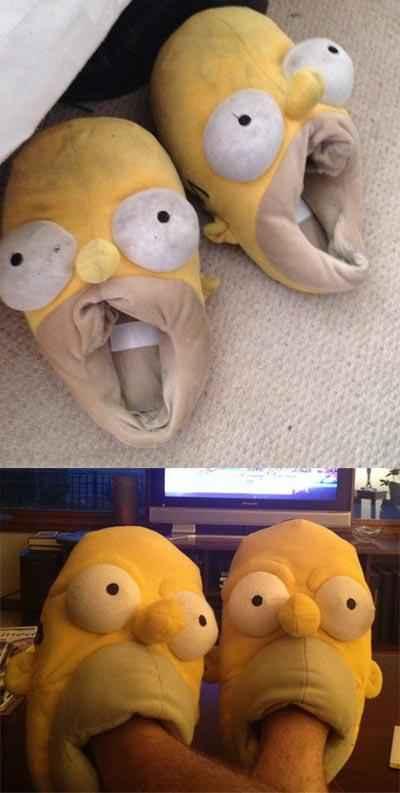 这拖鞋完全无法直视啊!!~