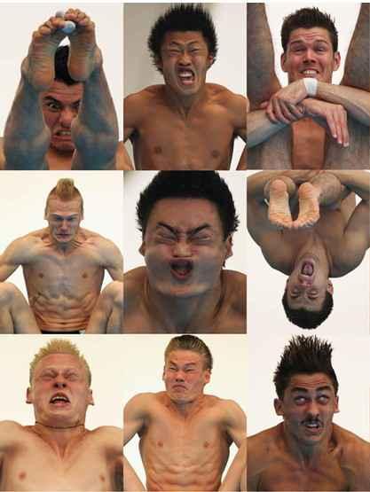终于知道为什么奥运跳水项目的运动员不喜欢近距离拍照了