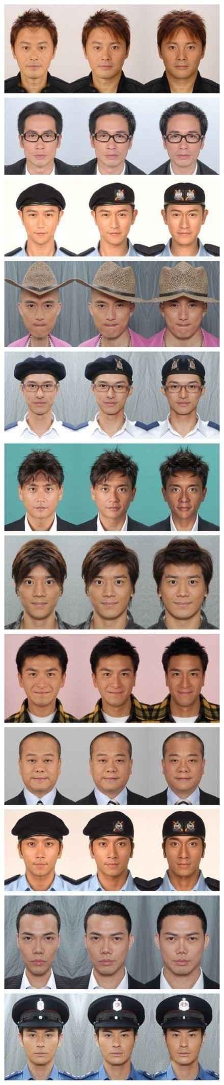 TVB男艺人的左脸和右脸,真正的帅哥是经得住考验的。。。「转」