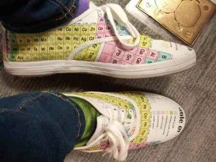 化学考试黄金战靴,此神器主人平常都舍不得穿出来,怕弄脏!