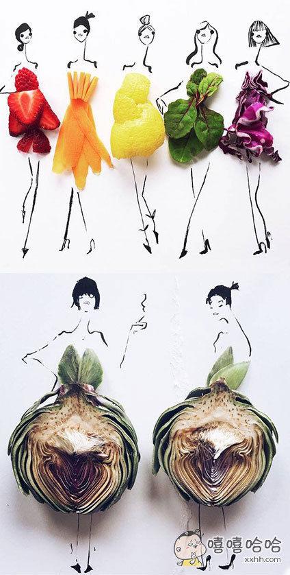 水果蔬菜时尚派对!