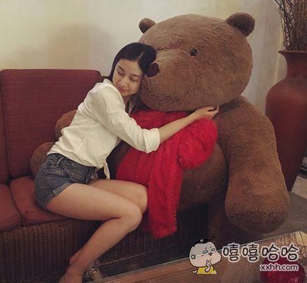 想做那只熊~