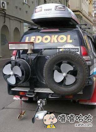 新发明的喷气式汽车,绝逼碉堡了