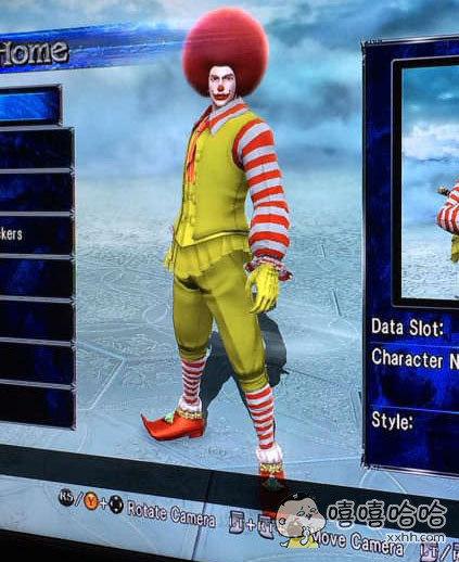 麦当劳的真爱粉,玩游戏都捏成这样