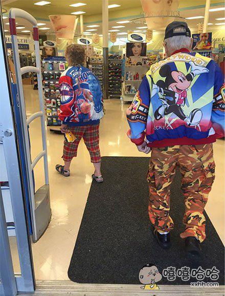时尚与潮流是不分年龄的!