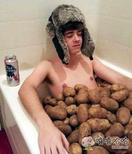 土豆浴。。