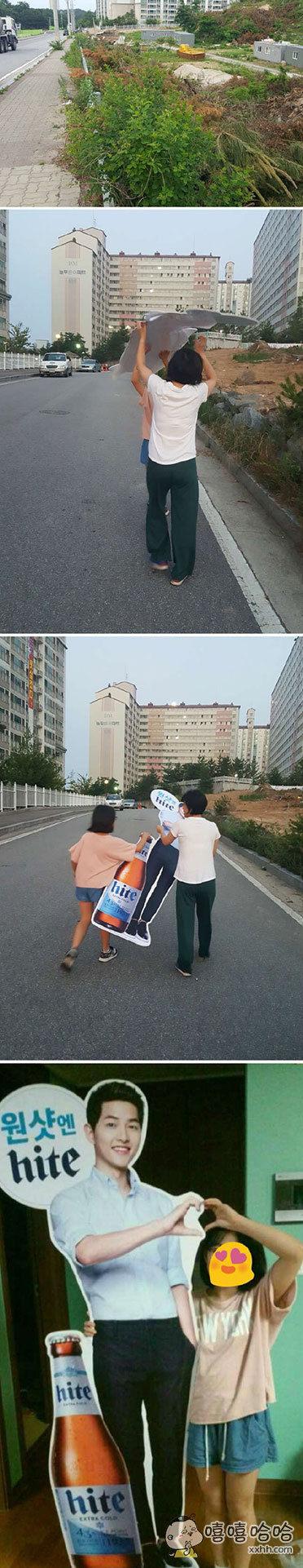 带老婆闺女出门散步,在路边发现倒在废墟中的一男子,然后她们娘俩就哼着小曲儿开开心心地同心协力把那个男人扛回了家