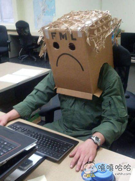 上班不开心!