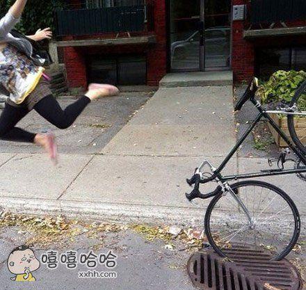 自行车杀手井盖。。