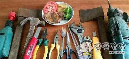 第一次吃牛排,是用这些东西吗