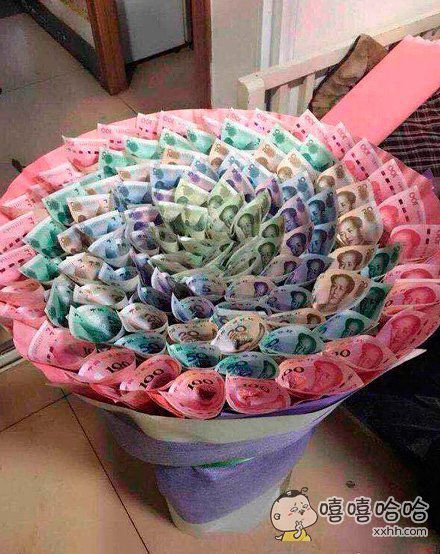 试问哪个女生不想收到一束这样的花