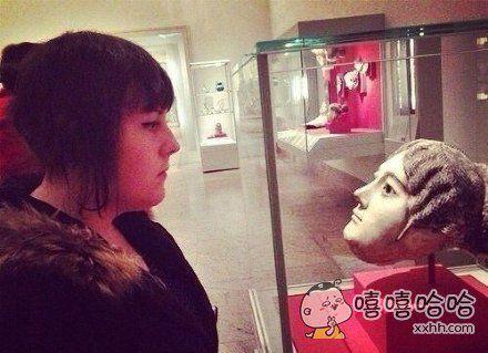 在逛古代博物馆时看到了自己。。。。