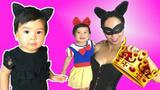 白雪公主的孩子是猫女的孩子