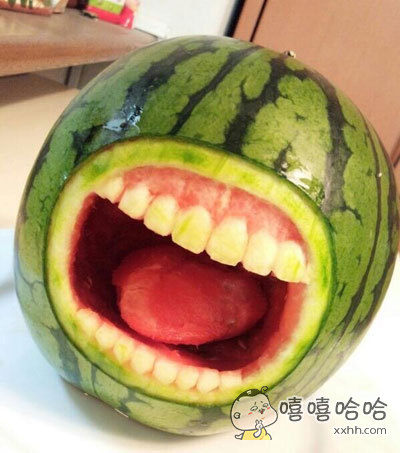 居然有人吃西瓜闲的蛋疼挖成这样了。。。。