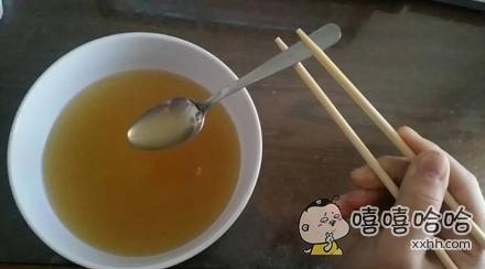 """对于老外""""中国人怎么用筷子喝汤啊!""""的疑问"""