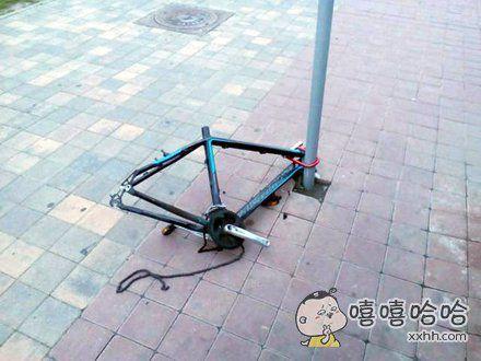 自行车:感觉身体被掏空