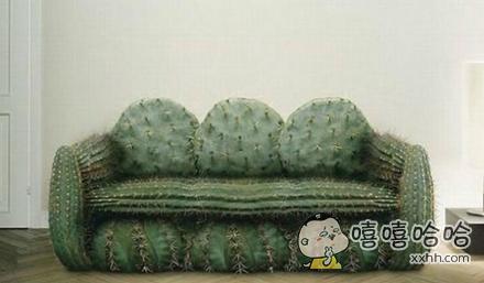 这沙发确定能坐人吗??