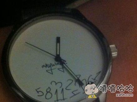 逗比手表。。