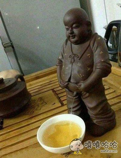 朋友,来喝杯茶。