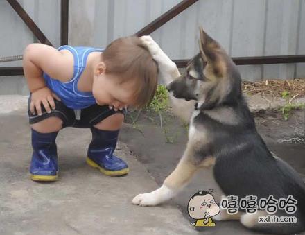 小朋友,我把绝世武功传给你
