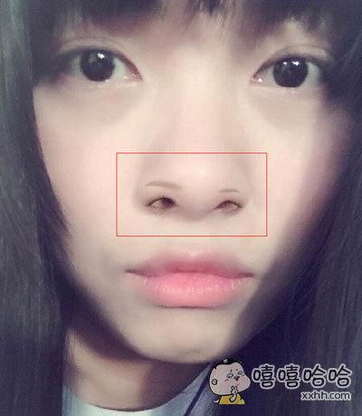 朋友用了美妆软件以后