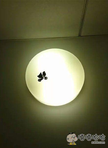 网友加工了一下卧室的灯