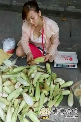 老板娘,这玉米多少钱一斤?