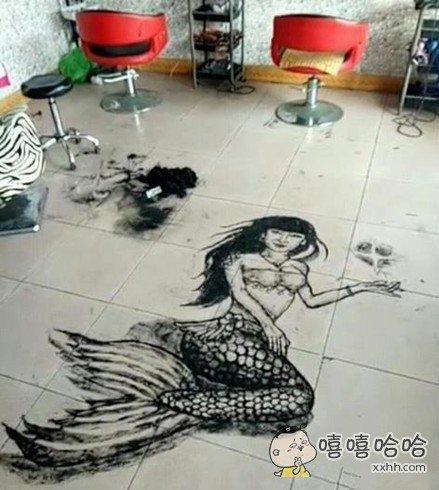 发型师真心太有才了!