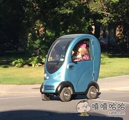 呆萌的小车。。。