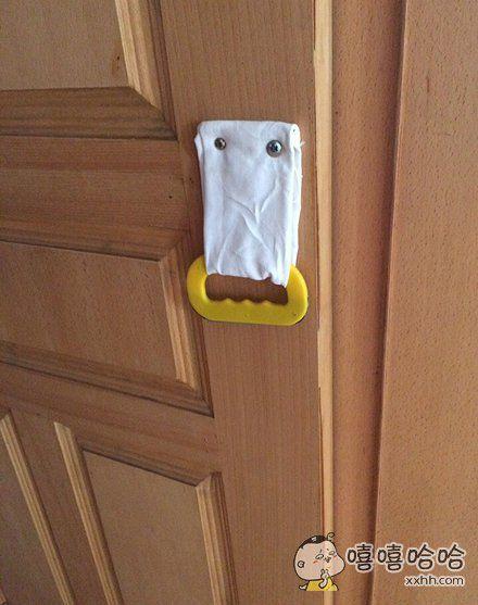 这么萌的门把手,你舍得抓么