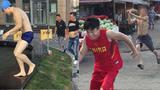 中国小伙街头办奥运会整懵路人!