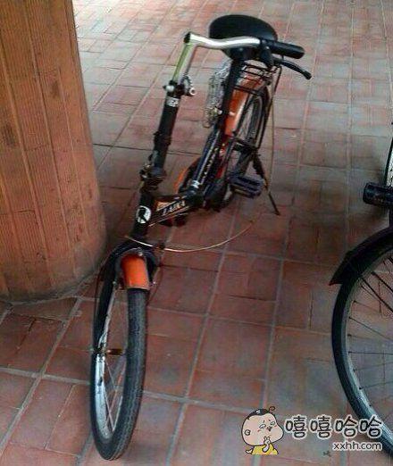 杨过专用自行车?