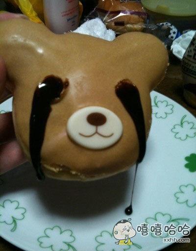 是不是我太丑了,熊都哭了
