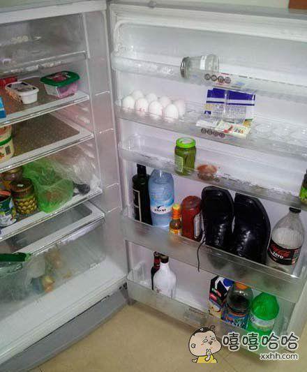 这是给冰箱除味吗?
