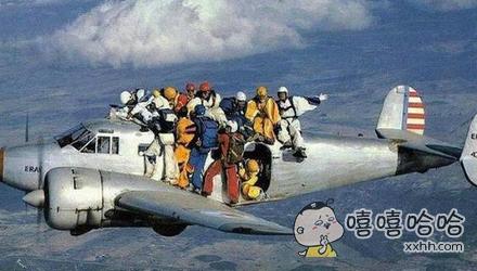战斗民族的飞行表演