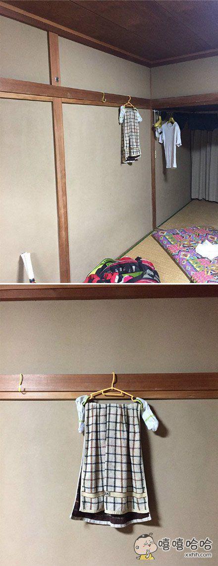 网友tarou_ma早上起来迷迷糊糊的发现自己屋子怎么有件女生衣服?一脸懵逼的走过去。。。