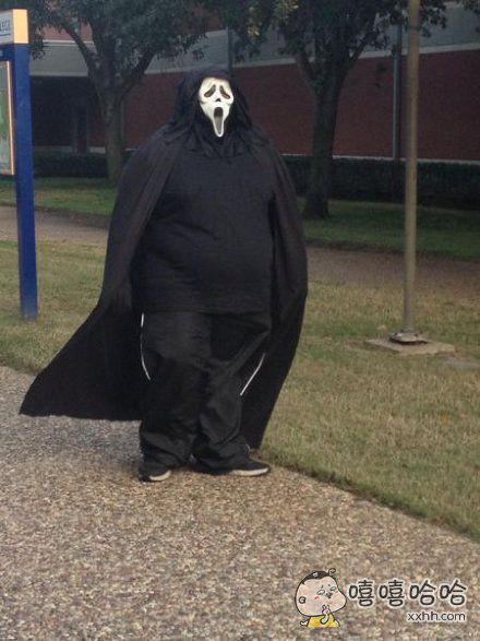 胖起来连鬼都不吓人了