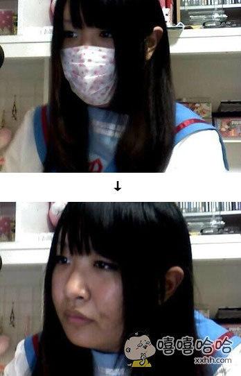 这世间,唯口罩与刘海不可轻信