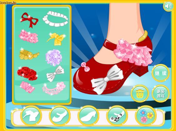 美人鱼鞋子设计