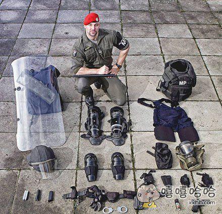 奥地利宪兵特种部队单兵装备