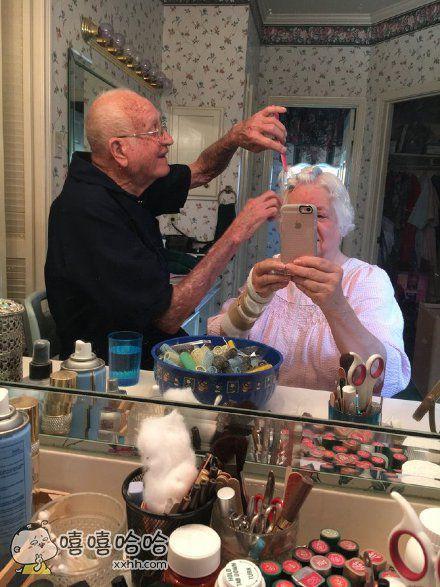 看来爷爷也没少给奶奶买口红